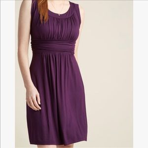 I Love Your Jersey Dress in Plum
